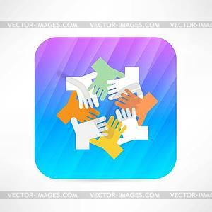 Hand-Symbol - Vector Clip Art