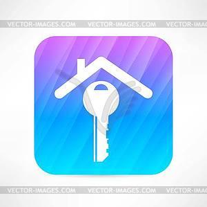 Haus-Symbol - Klipart