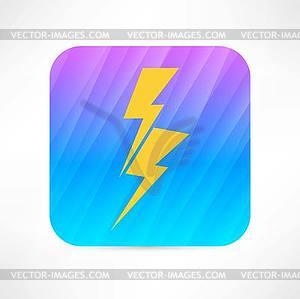 Blitz-Symbol - Vektor-Clipart / Vektor-Bild