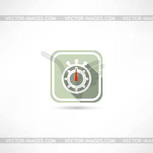 Stoppuhrsymbol - Royalty-Free Clipart