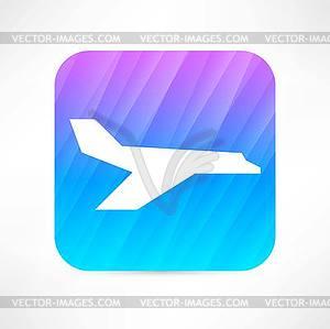Flugzeug-Symbol - Vector-Clipart / Vektor-Bild