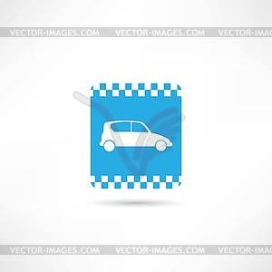 Taxi Icon - Stock Vektorgrafik
