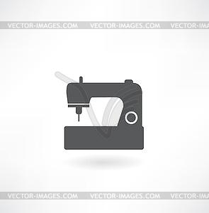 Nähmaschine - Vektor-Clipart
