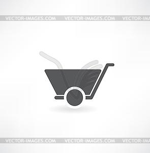 Handkarren - Vektor-Design