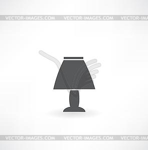 Tischleuchte Symbol - Vektor-Clipart / Vektor-Bild