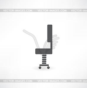 Bürostuhl - - Vector-Clipart