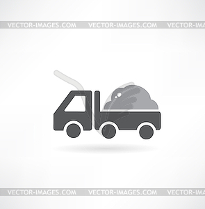 Muldenkipper - Vektorgrafik-Design
