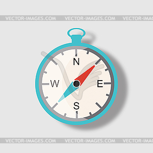 Kompass-Symbol - Vektor-Clipart EPS