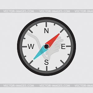 Kompass-Symbol - Vector-Clipart / Vektor-Bild