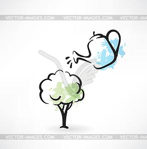 Eco-Symbol - vektorisiertes Clipart