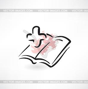 Buch der Medizin-Symbol - Vektor-Clipart / Vektorgrafik