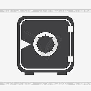 Sicheres Geld Symbol - vektorisiertes Design