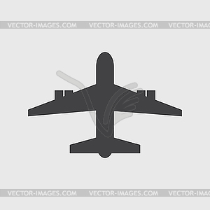 Flugzeug-Symbol - Stock-Clipart