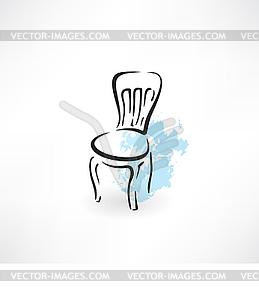 Stuhl-Symbol - Vektor-Clipart / Vektorgrafik