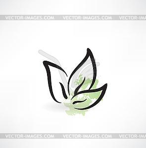 Eco-Symbol - vektorisiertes Bild