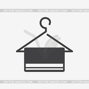 Aufhänger icon - Vektor-Klipart