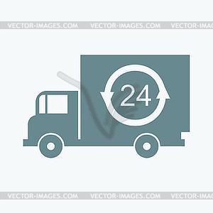 Schnelle Lieferung - Vektor-Clipart EPS