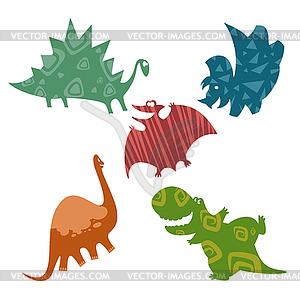 Baby-Dinosaurier - Clipart-Bild