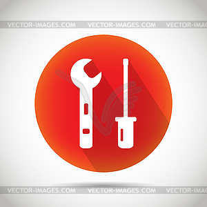 Tool-Symbol - Vector-Bild