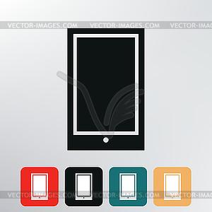 Smartphone-Symbol - Vektorgrafik-Design