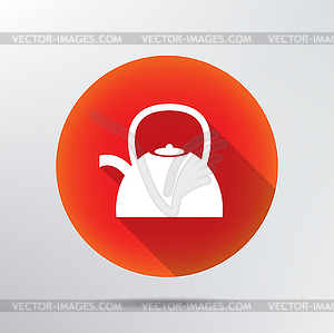 Wasserkocher icon - vektorisiertes Design