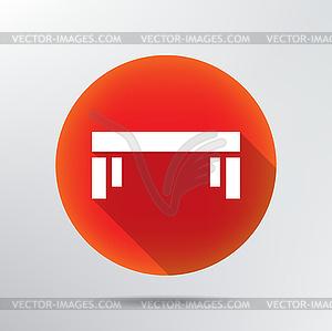 Tabellensymbol - vektorisiertes Clip-Art