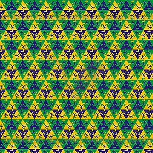 Nahtlose Fußball-Muster gegen Farben - Vector-Design