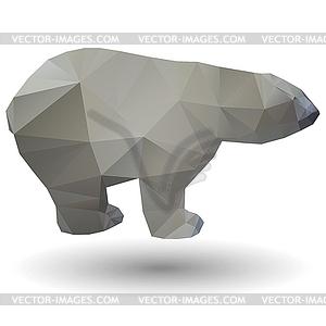 Eisbär-Symbol - vektorisiertes Design