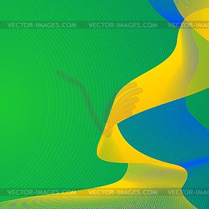 Brasilien Fußball-Weltmeisterschaft thematische Hintergrund - Vector-Clipart EPS