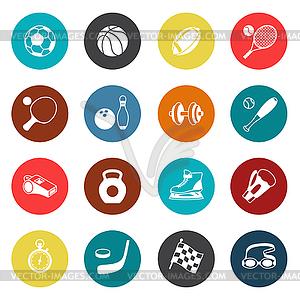 Satz von Sport-Symbole - Klipart