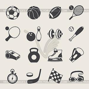 Satz von Sport-Symbole - Clipart-Design