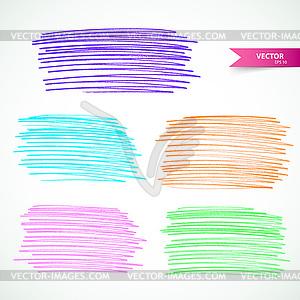 Marker Set - Vector-Clipart / Vektorgrafik