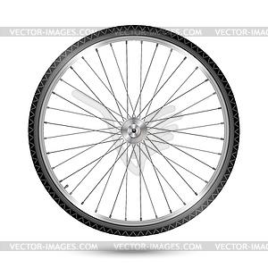 Fahrrad-Rad - Clipart