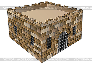 Alte Festung - Vector-Design