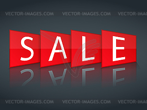 Sale Banner - Vector-Clipart EPS