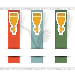 Cup der Gewinner - Vektorgrafik