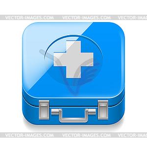 Sanitätskasten - Vektor-Clipart / Vektor-Bild