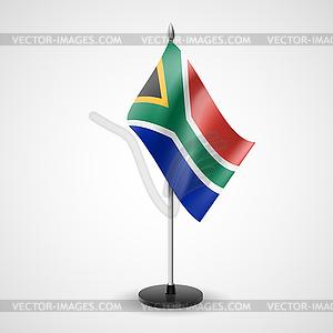 Tabelle Flagge von Südafrika - Vektor-Clipart / Vektor-Bild