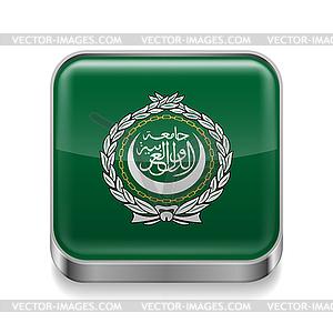 Metal-Ikone der Arabischen Liga - vektorisierte Grafik