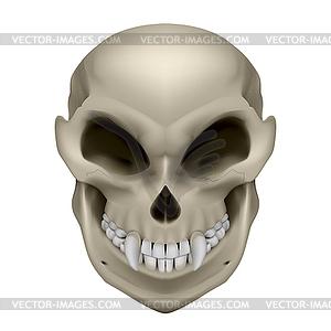 Schädel von mutierten - Royalty-Free Vektor-Clipart