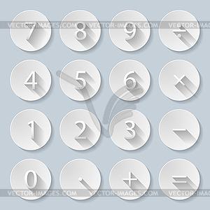 Papier-Symbole - vektorisiertes Design