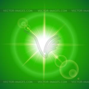 Sonnigen Hintergrund - Stock Vektorgrafik