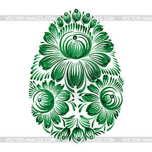 Floralen dekorative Ornament - Vektor Clip Art