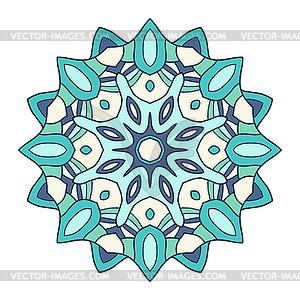 Rundschreiben dekorativen Ornament, arabische Muster - Vector-Design