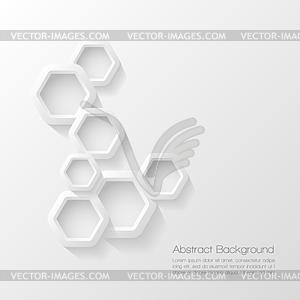 Abstract modern geometrischen Hintergrund - vektorisierte Abbildung