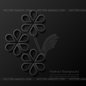 Abstract modern geometrischen Hintergrund - Vektor-Illustration