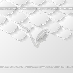 Abstrakte moderne Stil Hintergrund - Royalty-Free Clipart