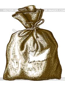 Alten Sack - Vector-Illustration