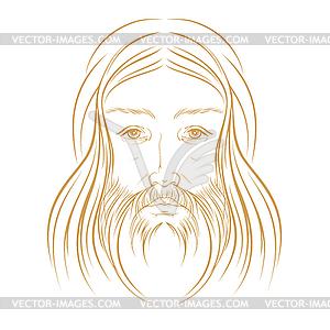 Jesus Christus - Vector-Clipart / Vektor-Bild