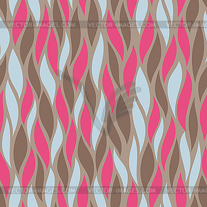 Nahtloses Pattern-Ornament - Vector-Clipart / Vektor-Bild